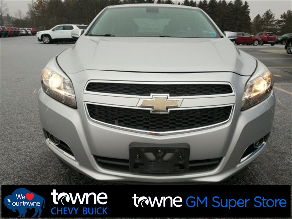 2013 Chevy Malibu Lt >> Pre Owned 2013 Chevrolet Malibu Lt Fwd 4d Sedan