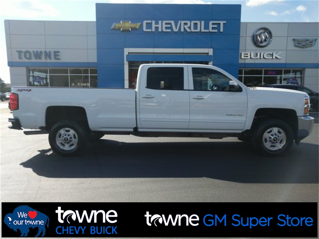 Pre-Owned 2018 Chevrolet Silverado 2500HD LT