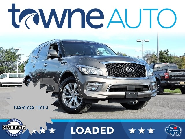 Infiniti Suv 2017 >> Pre Owned 2017 Infiniti Qx80 With Navigation Awd
