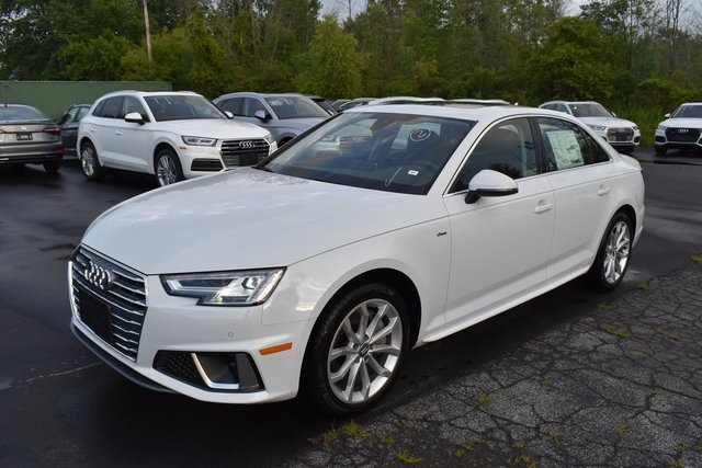 New 2019 Audi A4 2.0T Premium Plus quattro 4D Sedan