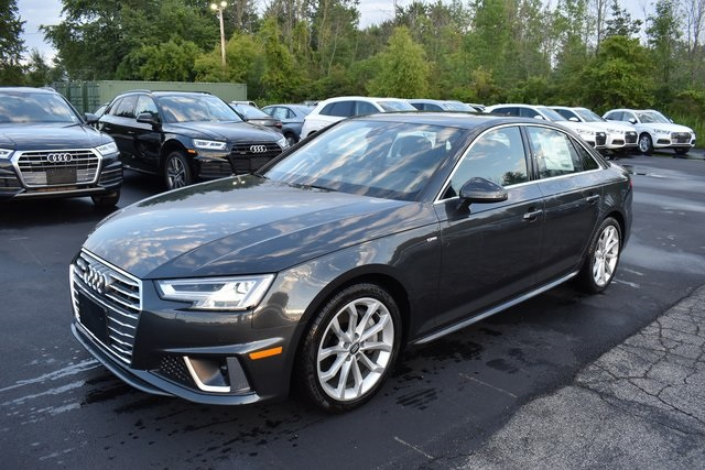 Audi A4 2.0T >> New 2019 Audi A4 2 0t Premium Plus Quattro 4d Sedan