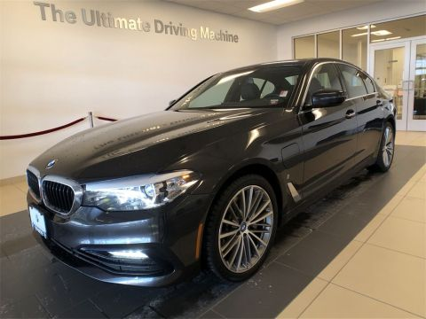 Certified Pre-Owned 2018 BMW 5 Series 530e xDrive iPerformance